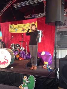 Joanna Romagnoli beim Kindermusikfestival Köln